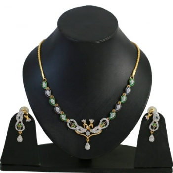 Touchstone Alloy Jewel Set (Multicolor)